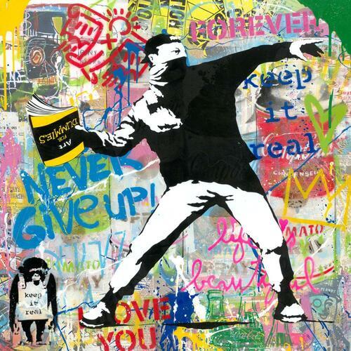 Banksy Thrower, 2020 - P105797