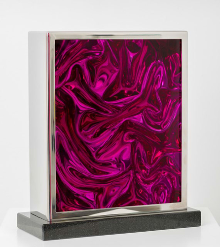 Untitled 1990-2012 (violet slab desk top)