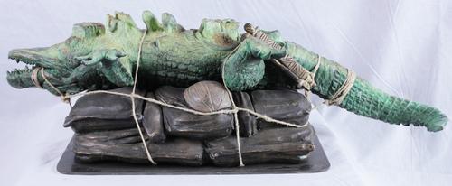 Bagaglio crocodile