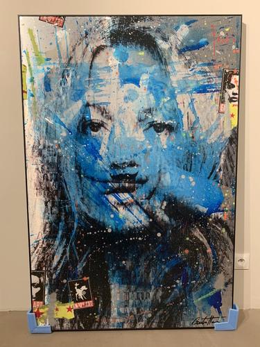Kate Moss 150x100 cm