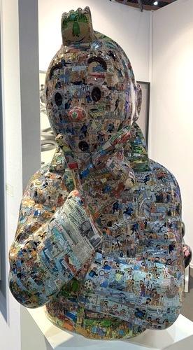 """TINTIN Penseur - """"L'ordre et le chaos"""" L'affaire tournesol (75 cm)"""