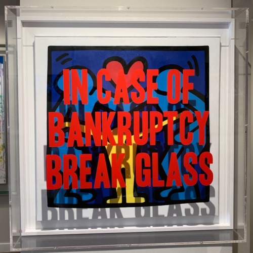 In Case of Bankruptcy - Haring Family (60x60 cm)
