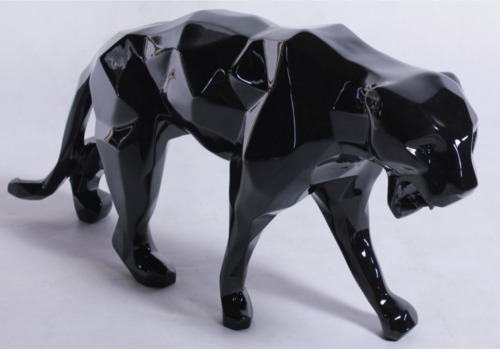 Richard ORLINSKI - Wild Panther - Black