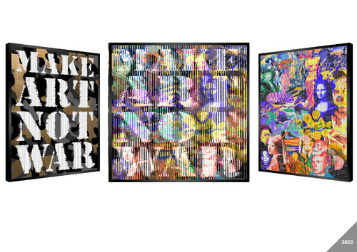 Art Bombe (Make Art not War)
