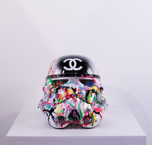 Casque Stormtrooper Lovely Chanel, 2019