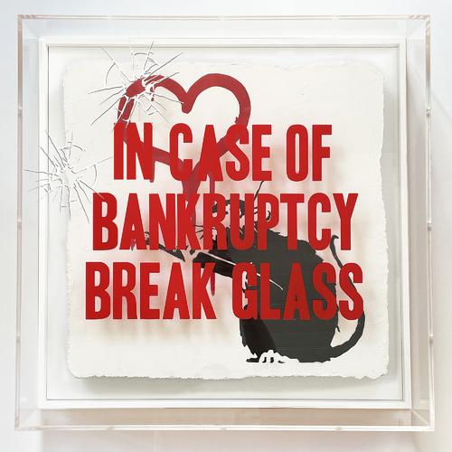 """In Case of Bankruptcy - BROKEN GLASS - """"Love Rat"""", 2021"""