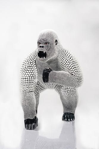 Gorille Nu - Noir (1M), 2021