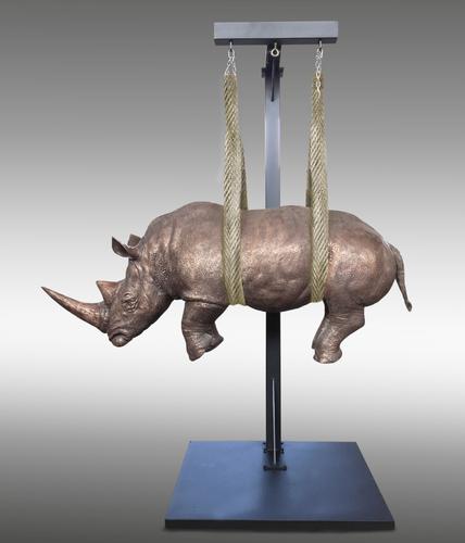 Il peso del tempo sospeso rhino 220