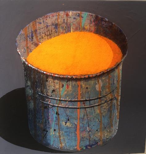 Pot - orange clair
