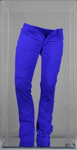 Wild jeans - pigments Blue