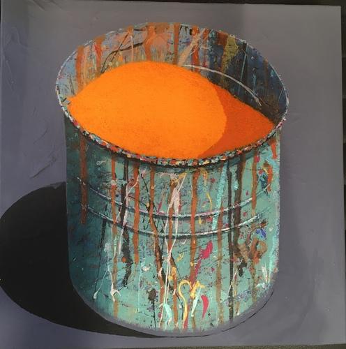 Pot - Orange Vif