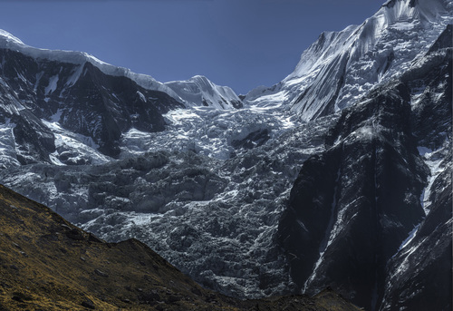 View from North Annapurna Basecamp 2