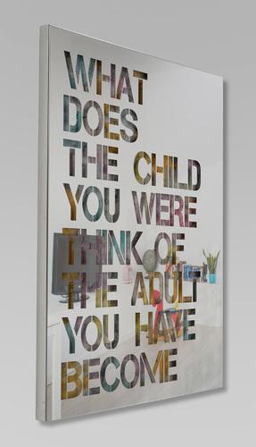CHILD - fond pastel, 2021