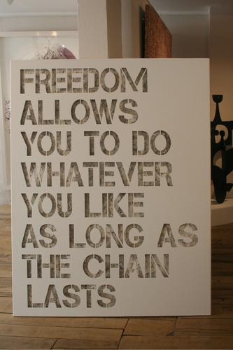 Freedom - Alu Blanc