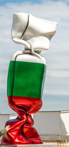 Wrapping Bonbon - Drapeau Bulgarie N°1346, 2011