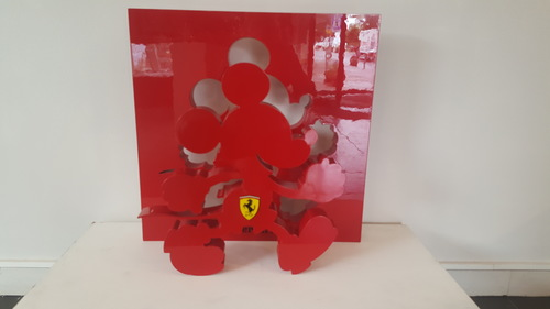 Mickey Addict Ferrari