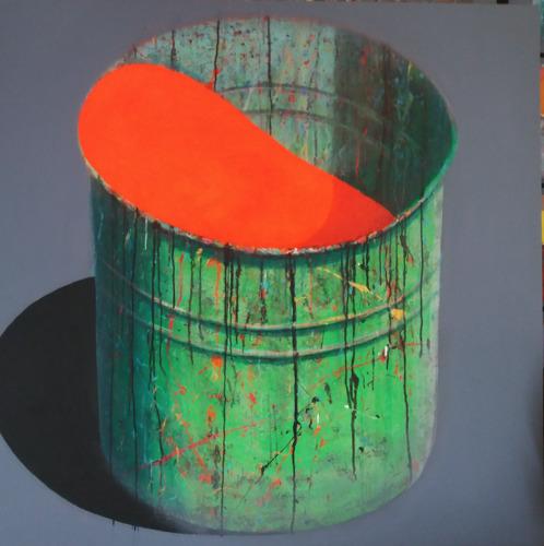 Pot d'atelier Orange
