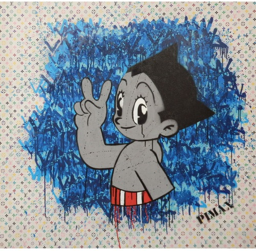 Louis le Vandal, Astro Version (Monogramme blanc), 2014