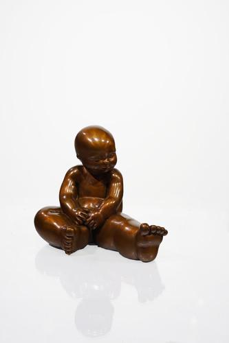 Contemplation, 2021 - patine caramel