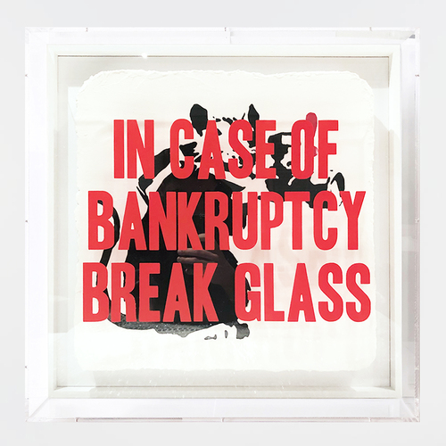 In Case of Bankruptcy - Paparazzi Rat (50 cm)