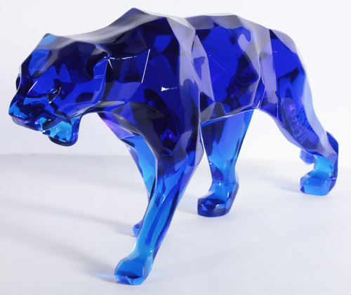 Wild panther - Blue crystal
