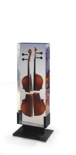 Inclusion de violon découpé
