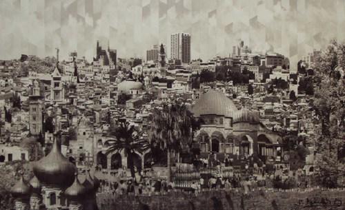 Jerusalem I - Sepia