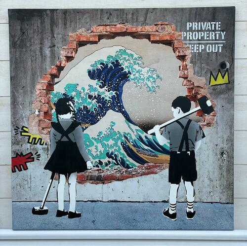 """SWEET ESCAPE - """"Great Wave"""", 2021"""