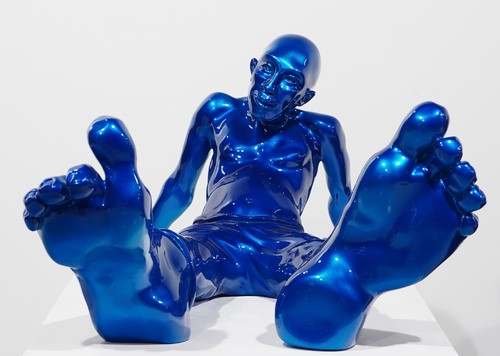 Bigfoot 100 - Résine bleu