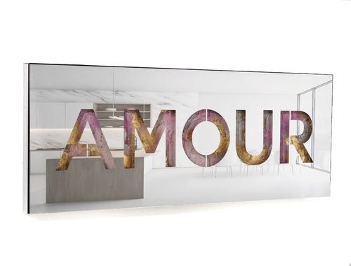 SERIE COLORS - Bandeau Horizontal - Amour, 2021