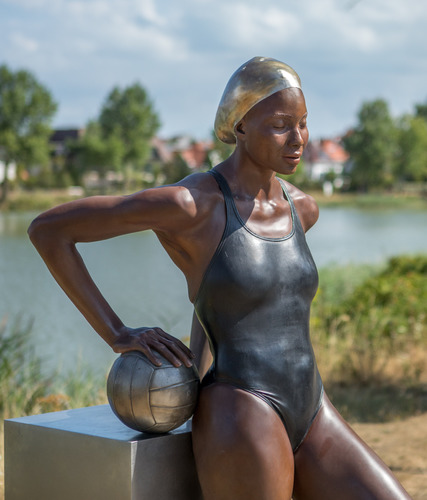 Yaima and the Ball - bronze