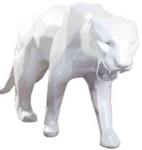 White Panther (Panthère) - White 110cm