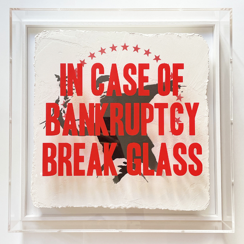"""In Case of Bankruptcy - """"Flower Thrower Stars"""", 2021"""