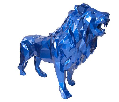 Lion - Bleu Mick