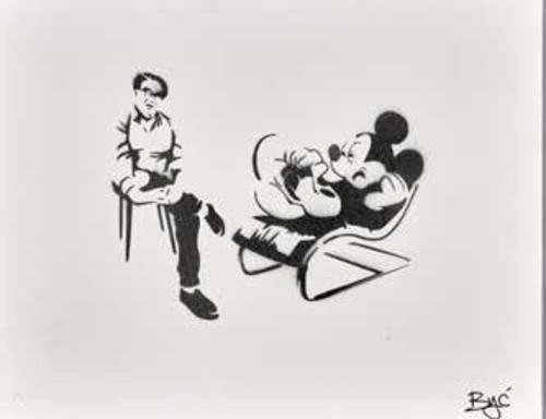 Mickey Mouse and therapist, 2017