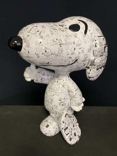 SNOOPY - Comic Strip - 1990 Collector edition (50 cm)