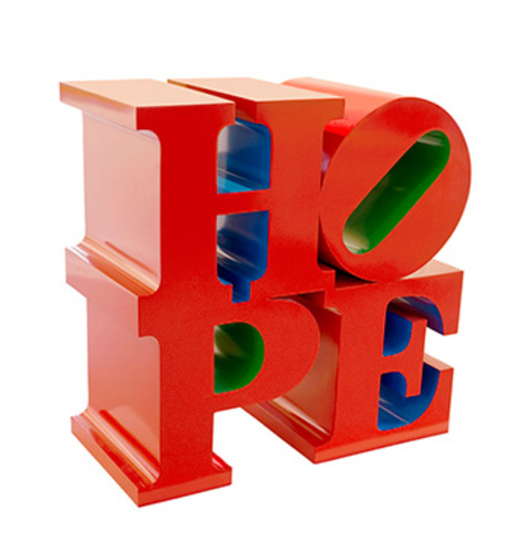HOPE (Red/Blue/Green), 2009