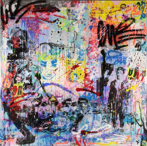 Rimbaud in the street