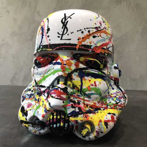Casque Stormtrooper YSL special addiction, 2018