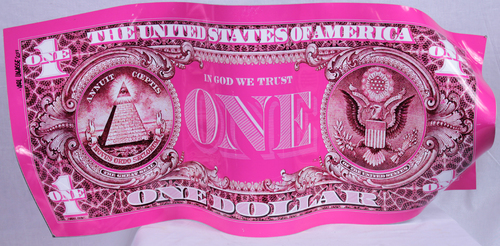 One Dollar - Pink
