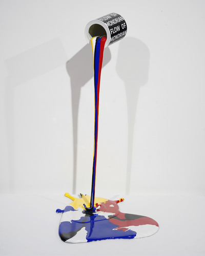 Flow of Mondrian - Coeur 003